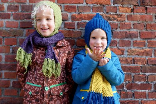Zelfde jas, zelfde sjaal, zelfde muts