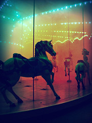 untitled. (qynnvalentynne) Tags: park halloween fog night amusement scary pittsburgh silent pennsylvania hill foggy carousel spooky pa kennywood fright