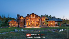 Handcrafted Log Home Ex