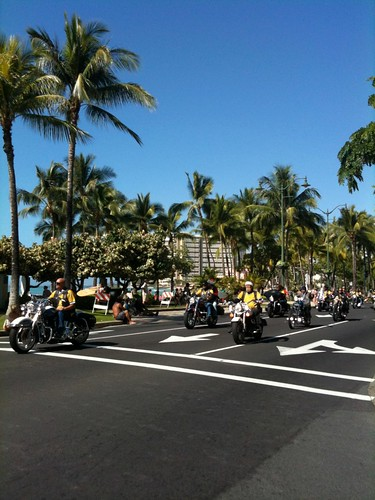 Waikiki Honolulu Motorcycles at Toys for Tots Biker Event 2009