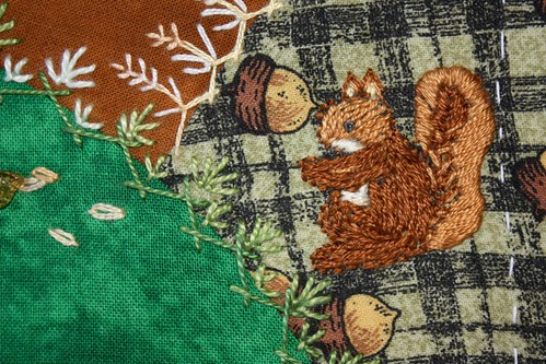 Squirrel Detail
