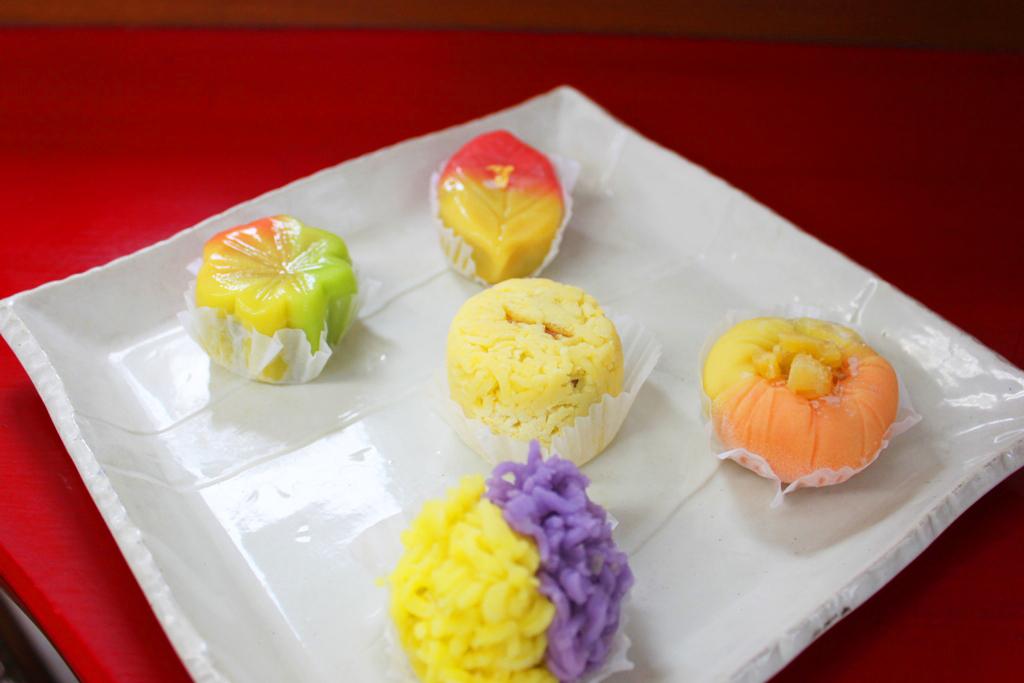 """Wagashi,Japanese Sweets """"Ichigetsu"""" Part2 (12)"""