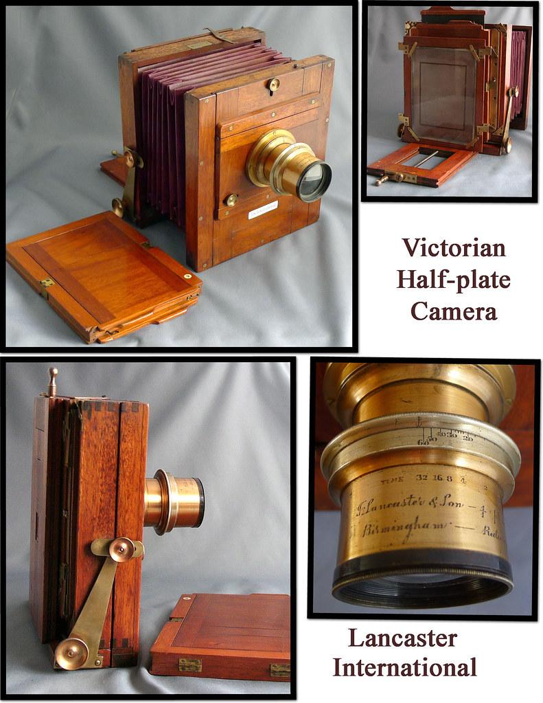 Victorian 'brass & wood' camera