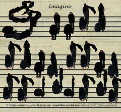 Imagine (deborahmj2) Tags: music love lines peace friendship notes song imagine johnlennon clef treble trebleclef teleidoscope