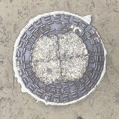 LUXFER COALPLATE BELGRAVE ROAD PIMLICO (xxxxheyjoexxxx) Tags: coalplate coal plate iron shute vintage cover opercula plates coalplates lid lettering foundry london pimlico