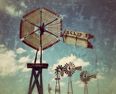 eclipse... (HWW) (BillsExplorations) Tags: windmill windmillwednesday waterpump vintage retro old farm rural agriculture water oldfashioned collection hannibal missouri illinois eclipse