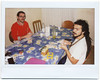 Andrea & Andrea playing cards (Giorgio Verdiani) Tags: fujifilm instax 100 fujinon 95mm instant istantanea fotografia picture film pellicola elba island isola 2017 mediterranean mediterraneo tirreno sea mare kitchen cucina capoliveri andrea playingcard giocodicarte carte cards dredds limoncello table tavolo