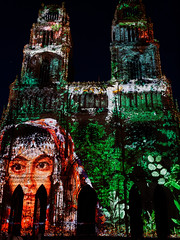 Sons & Lumières sur la cathédrale d'Orléans, saison 2 (Livith Muse) Tags: cathédrale orléans centre france fra