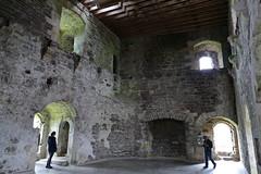 P1000067 - Doune castle (upper hall) (marc_vie) Tags: schottland scotland doune castle chateau burg perthshire