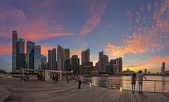 Epic Sunset @ Marina Bay Sands, Singapore (gintks) Tags: gintaygintks gintks marinabaysands marinabayfinancialcentre sunsetglow bayfronteventspace thepromontory yoursingapore exploresingapore marinabaysingapore marinabay singaporetourismboard landscapes