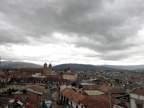 Zipaquira, View of Town