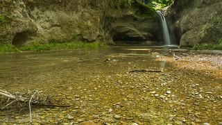2. waterfall Bläsimühle, Tobelbach 1.)-1604
