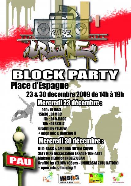 block party pau