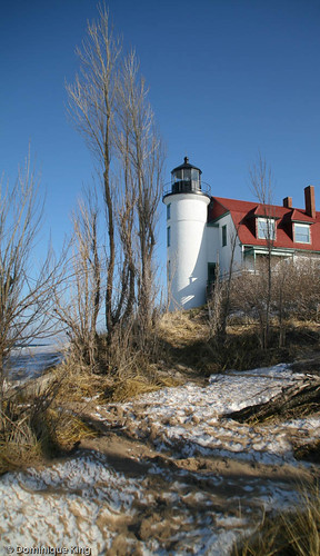 Point Betsie winter 2