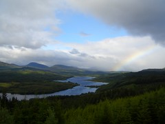 Rainbow in Scotland