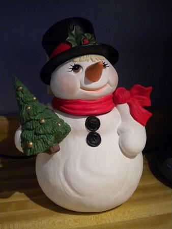 snowman_cookiejar