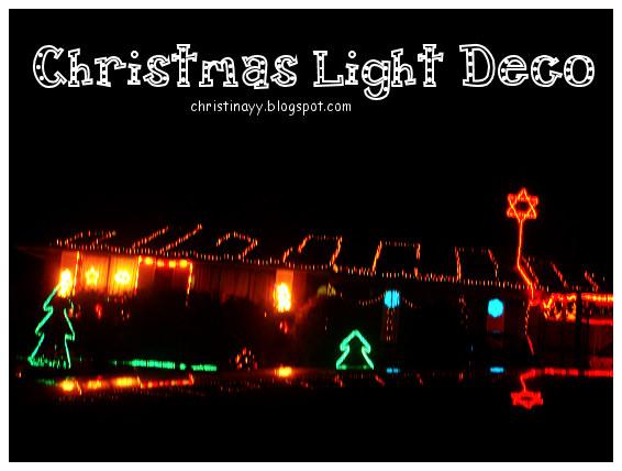 Toowoomba: Christmas Light Deco