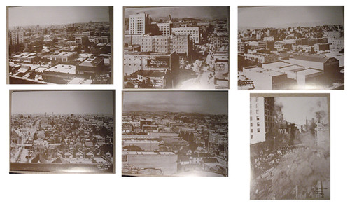 vintage downtown photo set