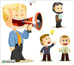 Megaphone. Business People (Aragga) Tags: boss people white male smile promotion businessman set training paper happy person idea office friendship employment desk cartoon working collection business suit human delight distributed customer characters presentation activity optimist manager profit reward success financial vacancy partnership vector lawyer leadership isolated necktie megaphone career bankrupt debt expertise businesswoman isyndica