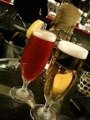 恵比寿Lavでビール