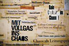 """mit vollgas ins chaos"""