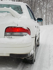 SANY3187 (t3hWIT) Tags: winter snow storm cold ice weather pittsburgh snowstorm subaru flurries type l pitt ra mode impreza wrx sti flurry rs25