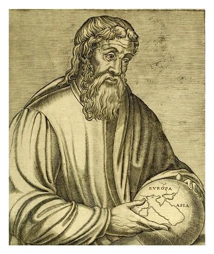 012-Estrabon geografo-Les vrais pourtraits et vies des hommes illustres grecz, latins et payens 1584-André Thevet