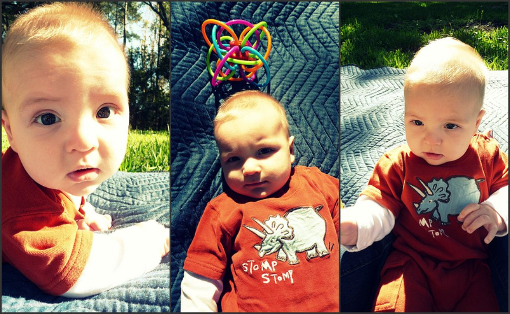 mal at four months