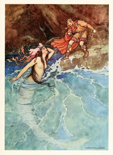 027- El enano amarillo-The fairy book  the best popular fairy stories -Goble Warwick 1913