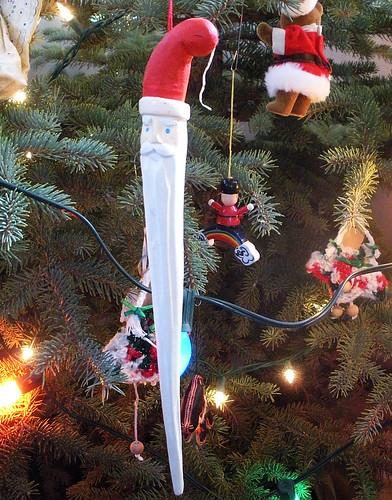 Santa Icicle