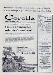 Vintage Outer Banks - Corolla Ad (momisbest) Tags: northcarolina outerbanks vintageads corollanc