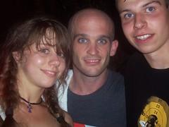 Me, my girlfriend Magda and Zach Blair from Rise Against (Cezar_rs) Tags: against zach poland polska warsaw blair rise warszawa