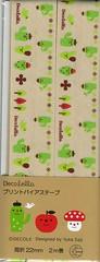 Cactus Bias Tape (This and That From Japan) Tags: cute japanese designer sewing kawaii trim notion decole biastape japanimport decolello yukasaji