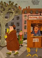 Schweizer Spiegel / Vol. 32 Nr. 3 (micky the pixel) Tags: winter dog comics hund magazin pelz maroni platane kastanien erzählungen bildergeschichten monatsschrift schweizerspiegel