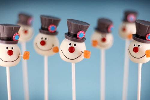 cake pops pictures. Snowman Cake Pops