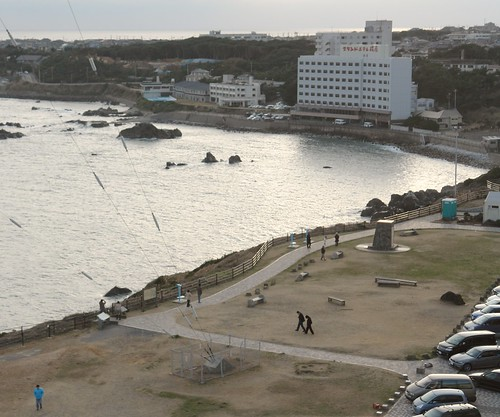 View from Inubousaki lighthouse