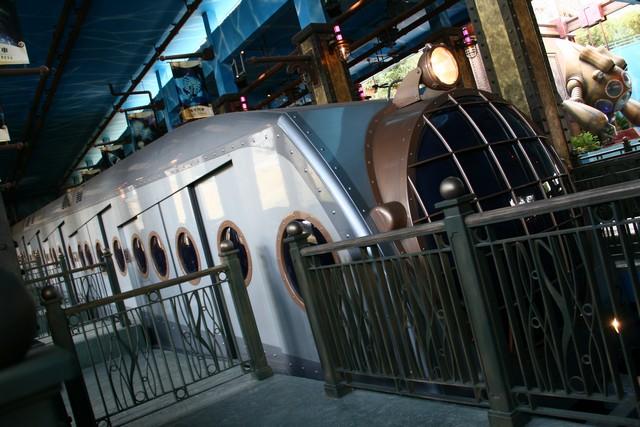 Ocean express train