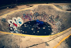 Please Recycle. (James Alby) Tags: vancouver shopping death washington please bowl dirty skatepark ugly swift cart recycle