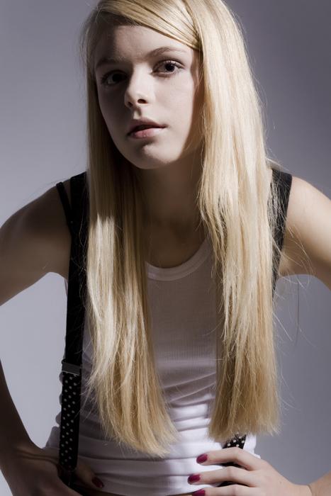 Non seulement blonde...