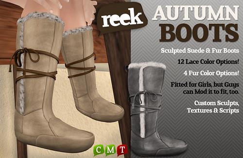 Reek - Autumn Boots
