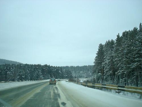 Дорога в Магнитогорск