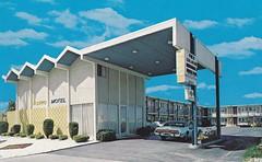 Astro Motel postcard Antioch CA (hmdavid) Tags: california modern vintage postcard motel roadside 1970s googie antioch midcentury spaceage astromotel