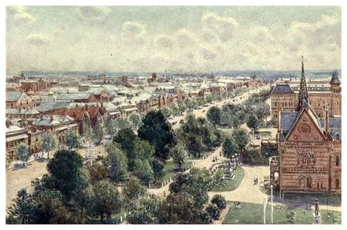 010-Las calles ajardinadas de Adelaida-Australia (1910)-Percy F. Spence