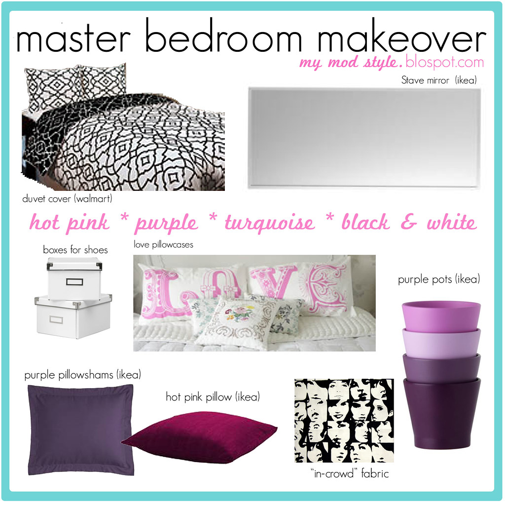 My Bedroom Makeover Design Board
