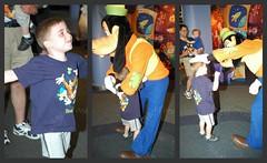 Big kid meets Goofy