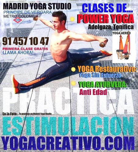 Practica Yoga en Madrid y Gana Tranquilidad