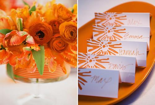 4271922989 a9a079226e Baú de ideias: Decoração de casamento laranja