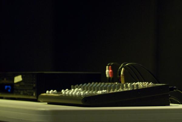 Open Merc sound equipment
