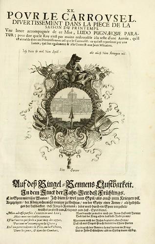 022- Divisa 3 del tapiz primavera-Tapisseries du roy, ou sont representez les quatre elemens 1690- Sebastien Le Clerc