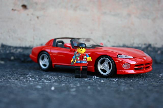 lego dodge viper rt10